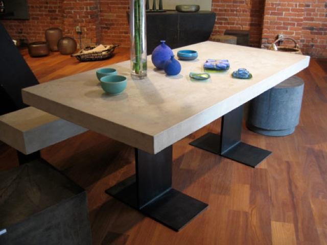 Concrete Furniture concretetable large Concrete  : table201 from www.benchmarkbenchtops.com.au size 640 x 480 jpeg 72kB