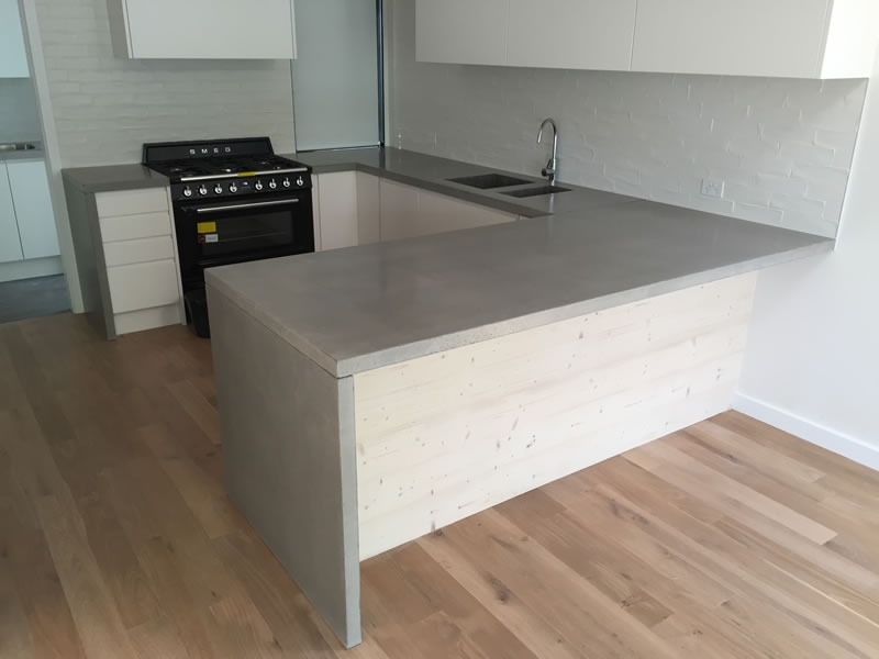 New concrete benchtops melbourne