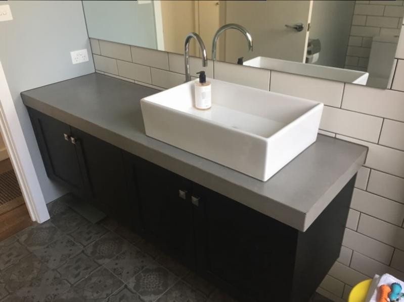 Btahroom concrete benchtops melbourne