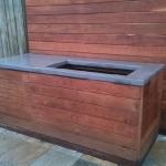 Outdoor Concrete benchtop