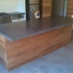 Outdoor Concrete benchtop