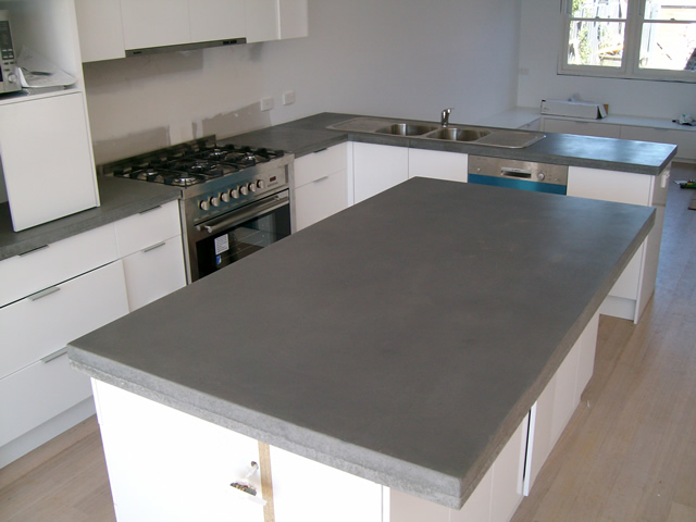 Care And Maintenance Of Your Kitchen Benchtops Concrete