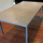 concrete dining table adelaide collections