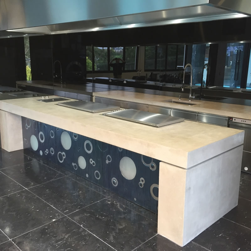 Corian Benchtop Endless Styles: Concrete Furniture - Concrete Tables Concrete Table Tops
